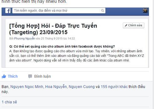 hoidap-facebook-target-truc-tiep-voi-nhom-ho-tro-facebook