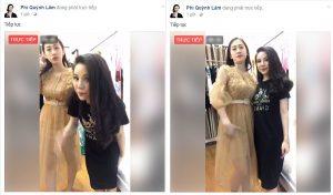 Livestream bán quần áo xu hướng hiện tại