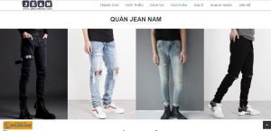 Nhiều loại mặt hàng quần jean nam nữ tại JeanVietnam