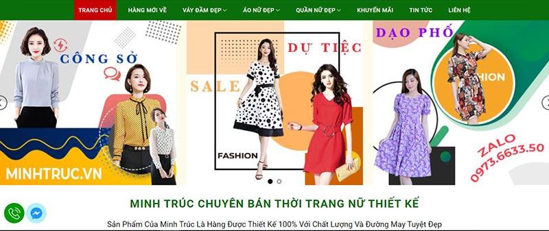 Thời trang Minh Trúc chuyên cung cấp sỉ váy đầm nữ online
