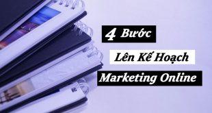 4 Bước Lên Kế Hoạch Marketing Online