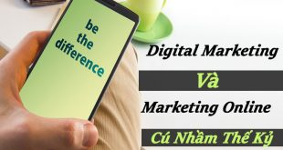 Digital Marketing Và Marketing Online – Cú Nhầm Thế Kỷ