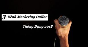Các Kênh Marketing Online Thông Dụng 2018
