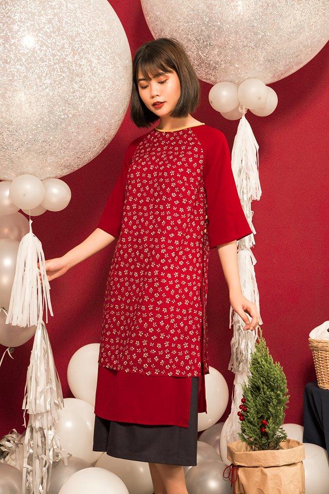 OLV Boutique là những mẫu áo dài mang vẻ dịu dàng