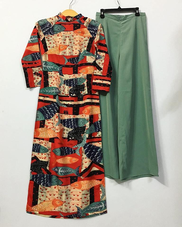 Yêu áo dài với thiết kế độc đáo