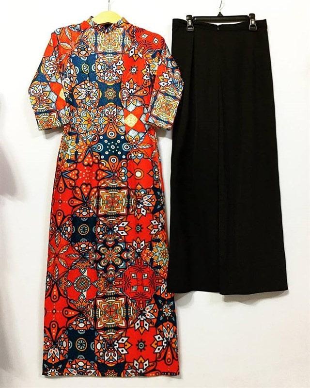 Yêu áo dài với thiết kế hiện đại