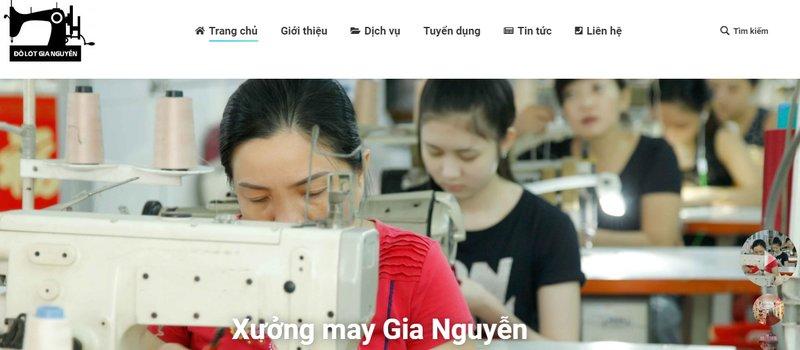 Xưởng may đồ lót nữ Gia Nguyễn