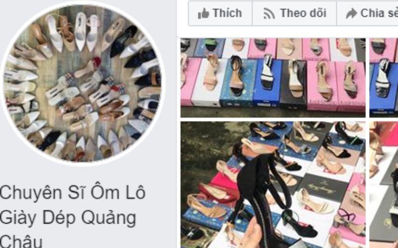 Sỉ ôm lô giày dép Quảng Châu
