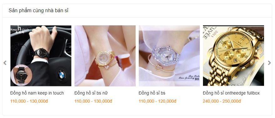 Buôn bán đồng hồ giá sỉ