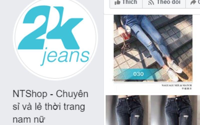 Xưởng 2k jean chuyên sỉ giá rẻ