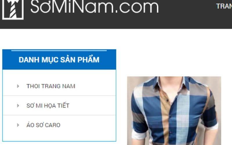 Chuyên sỉ thời trang nam Thanh Minh