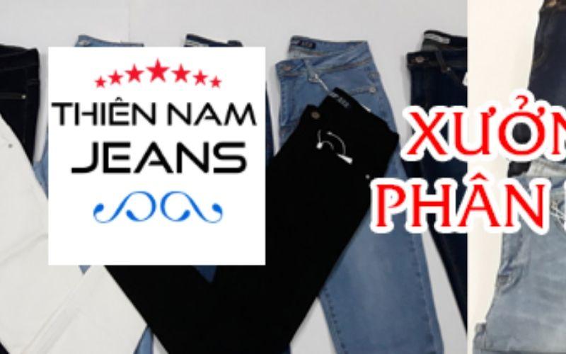 Xưởng quần jean Thiên Nam