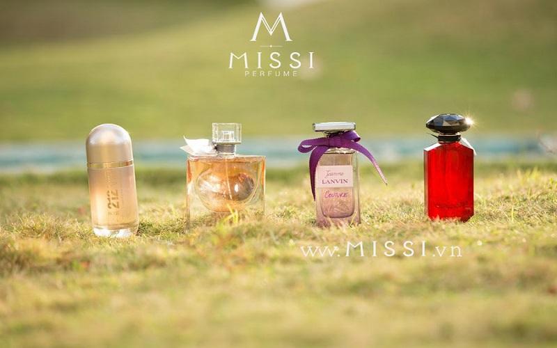 Nhà cung cấp nước hoa mini giá sỉ Missi Perfume