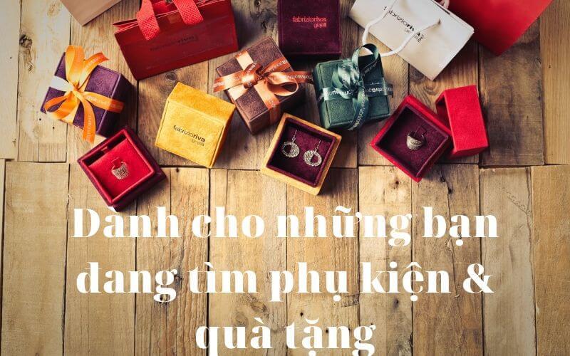 phụ kiện và quà tặng