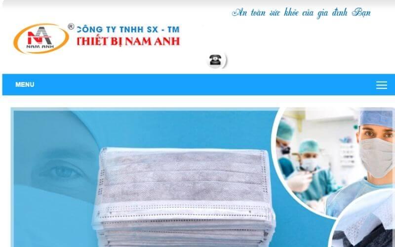 Khẩu trang y tế Nam Anh
