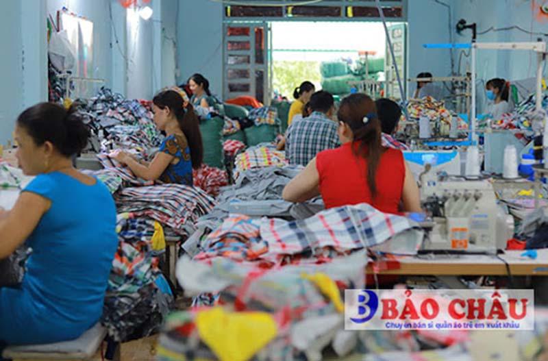 Bán sỉ quần áo trẻ em Bảo Châu