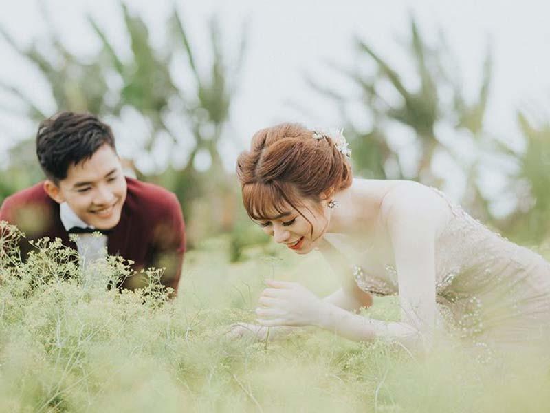 Hình ảnh cưới tại studio Thiên Đường Bình Dương