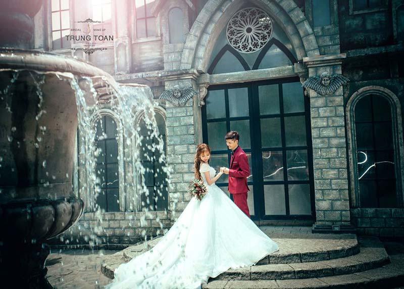 Studio Trung Toàn nghệ thuật trong từng bức ảnh cưới