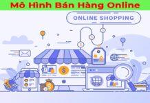 mô hình bán hàng online