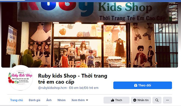 Ruby Kids Shop