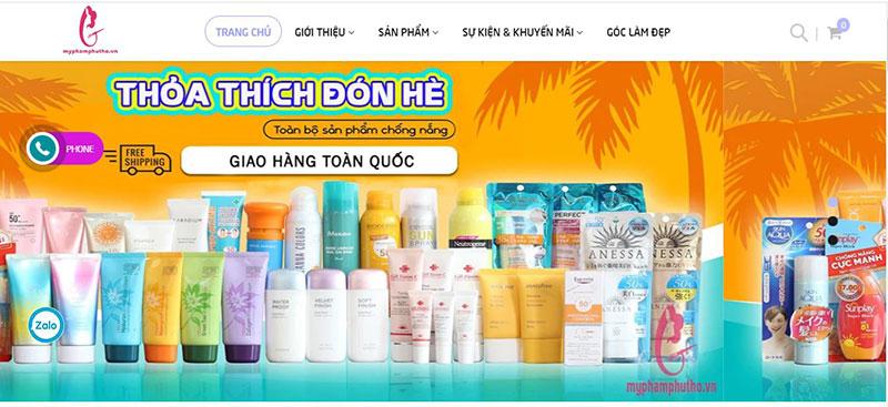 Mỹ phẩm Phú Thọ tuyển cộng tác viên bán hàng online TPHCM tại nhà