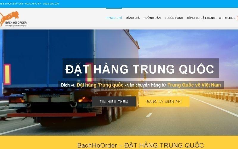 Trang web bán hàng sỉ Bachhooder.com