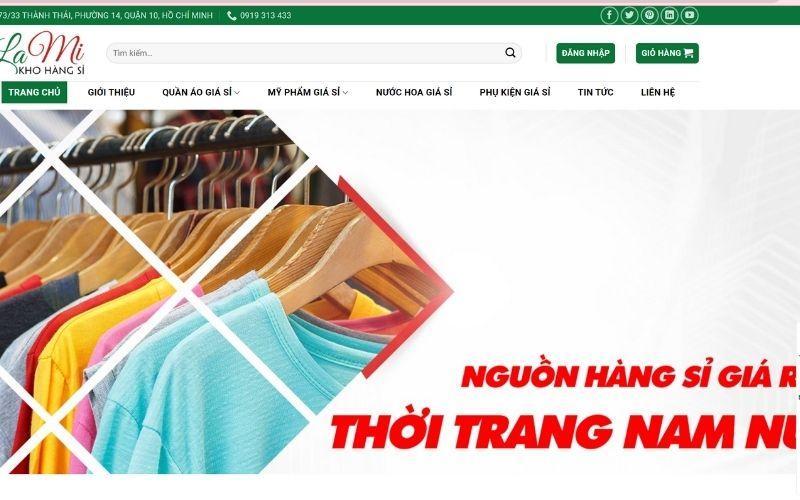 Xưởng chuyên sỉ quần áo hotgirl Kho hàng sỉ Lam