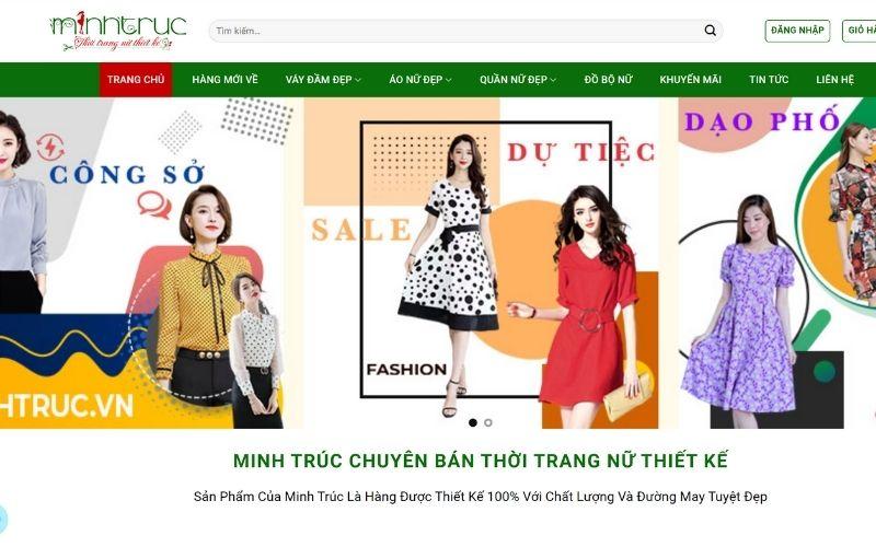 Xưởng chuyên sỉ quần áo hotgirl Thời trang Minh Trúc