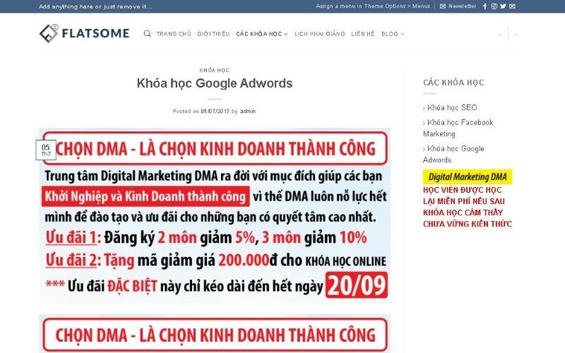 Học quảng cáo google ads ở đâu