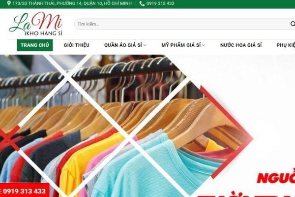 Kho hàng Sỉ Lami – Nguồn hàng tận xưởng may quần áo giá sỉ