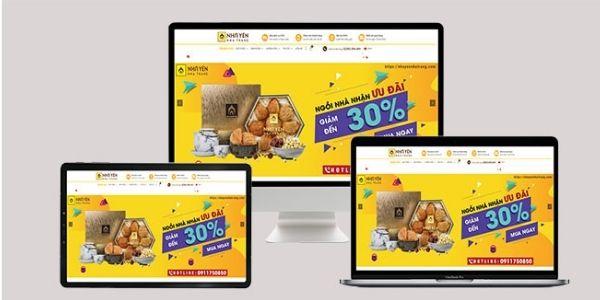 Website là kênh quan trọng hàng đầu khi kinh doanh yến sào