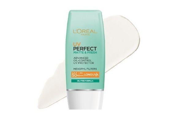 Kem chống nắng bảo vệ L'Oreal Paris UV Perfect fresh & Matte