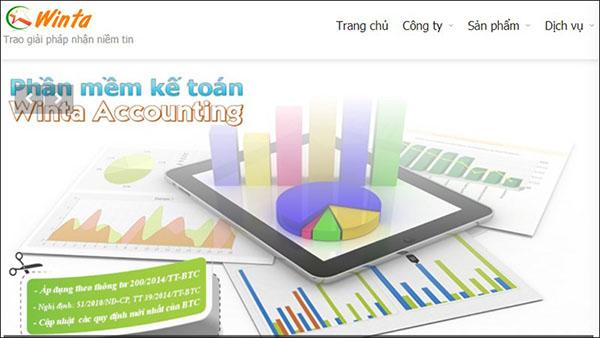 Phần mềm kế toán WINTA