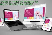 Top 7 công ty thiết kế website Cà Mau uy tín chuyên nghiệp