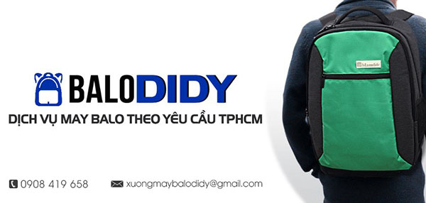 Công Ty May Balo in logo Didy Sun